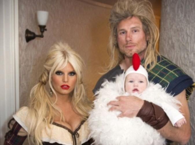Halloween 2012 : Jessica Simpson a déguisé sa fille en petit coq !