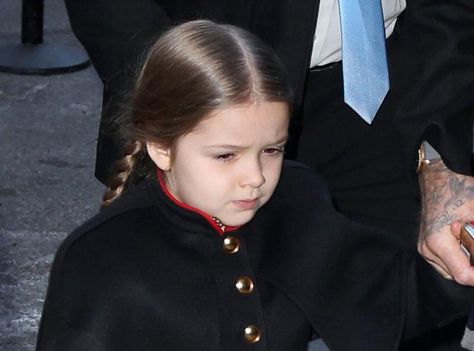 Harper Beckham : manucure et p�dicure... � l'�ge de 4 ans !