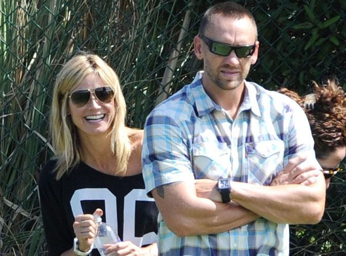 """Heidi Klum : elle se dit """"très heureuse"""" avec son ancien garde du corps !"""