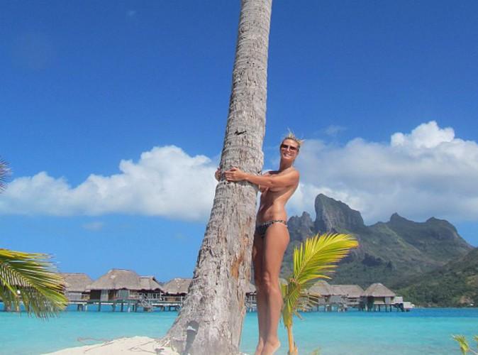 Heidi Klum : encore topless, elle aime nous montrer ses seins !