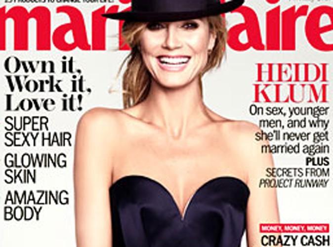 """Heidi Klum : """"Je ne pense pas me remarier"""" ..."""