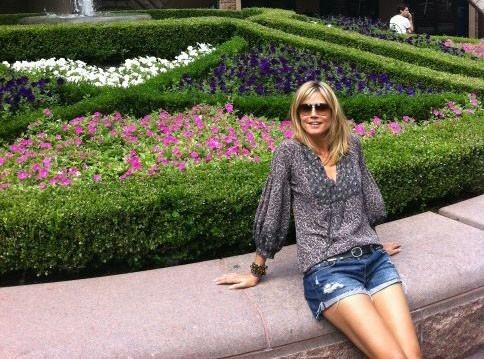 Heidi Klum : rien de tel qu'une journée au musée avec ses enfants !