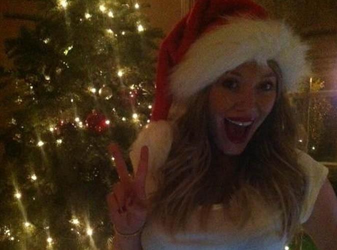 Hilary Duff : elle expose son joli ventre rond sur Twitter !