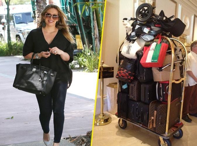 Hilary Duff : voyager léger? Elle ne connaît pas !