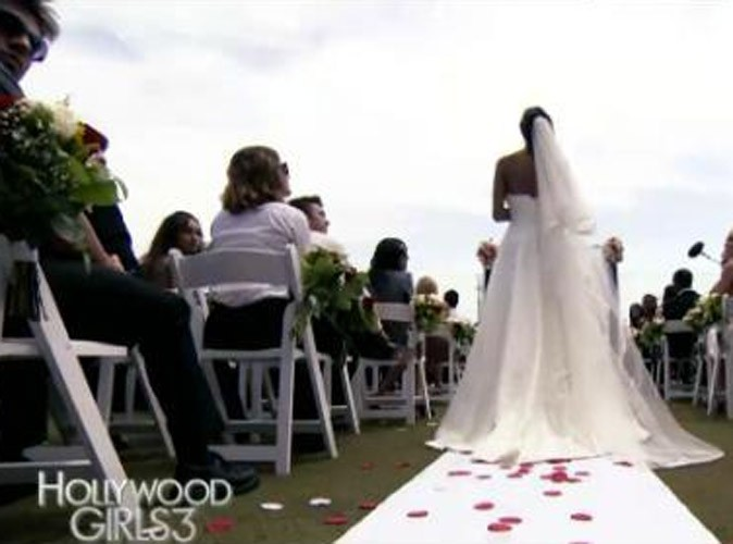 Hollywood Girls 3 : les premières images de Nabilla en robe de mariée !