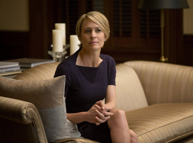 House of cards : Robin Wright perd son costumier !