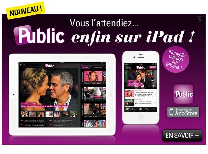 IPhone, iPad : découvrez la nouvelle application Public!