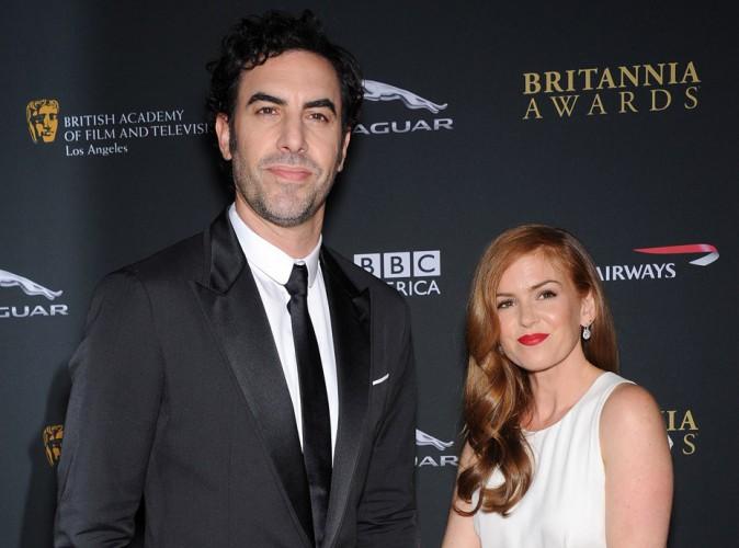 Isla Fisher et Sacha Baron Cohen : bientôt parents pour la troisième fois !