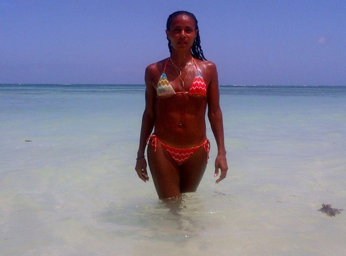 Jada Pinkett Smith : 40 ans et ultra-fière son bikini body !