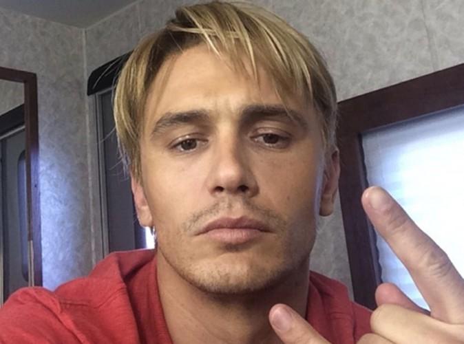James Franco : et maintenant, il passe au blond !