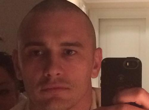 James Franco : il n'a plus un cheveu sur le caillou !