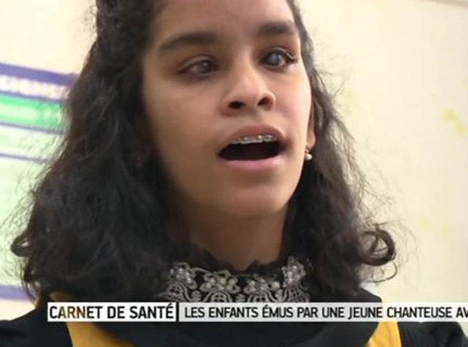 """Jane (The Voice Kids ) : sa belle rencontre avec des écoliers """"Il m'arrive parfois d'oublier que je suis aveugle"""""""