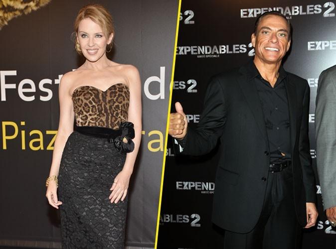 """Jean-Claude Van Damme : """"Kylie Minogue est une très bonne amante"""""""