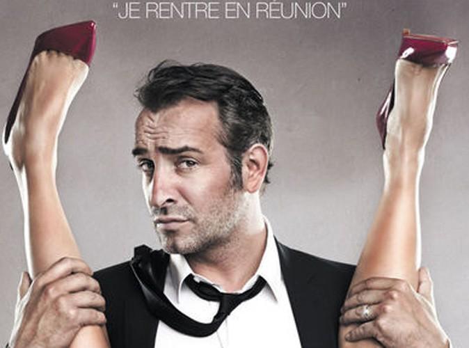 Jean dujardin l affiche des infid les censur e for Dujardin rire