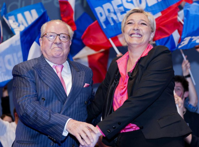 """Jean-Marie Le Pen : il s'est réconcilié avec sa fille Marine : """"La page est tournée"""" !"""