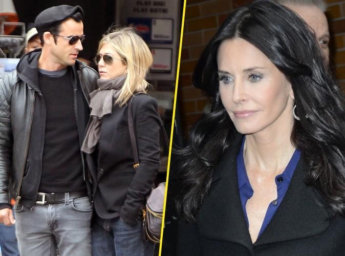 Jennifer Aniston et Justin Theroux : ils ont fêté leurs fiançailles avec Courteney Cox !