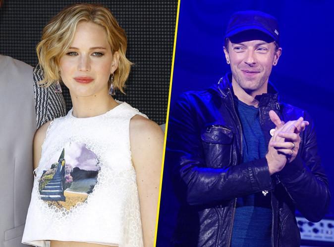 Jennifer Lawrence : découvrez sa première photo avec Chris Martin !