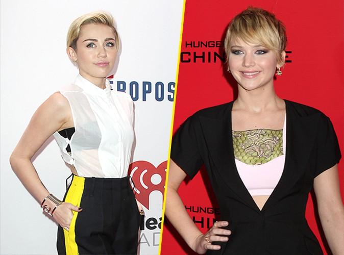 Jennifer Lawrence : élue personnalité culturelle de l'année, elle coiffe Miley Cyrus au poteau !