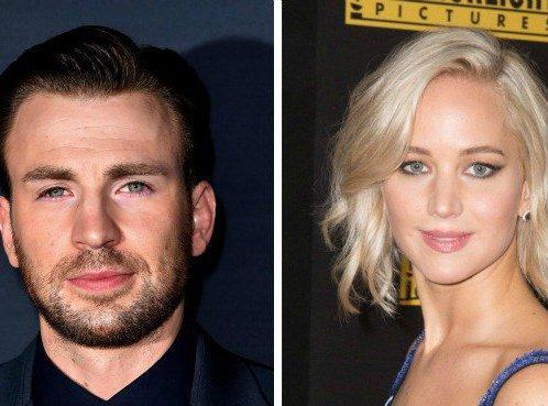 Jennifer Lawrence : en couple avec Chris Evans ?