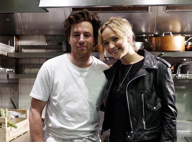 Jennifer Lawrence sous le charme d'un... chef cuisinier fran�ais !