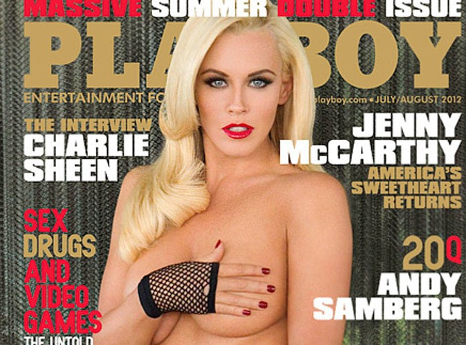 Jenny McCarthy : l'ex de Jim Carey, bimbo nue aguicheuse pour Playboy !