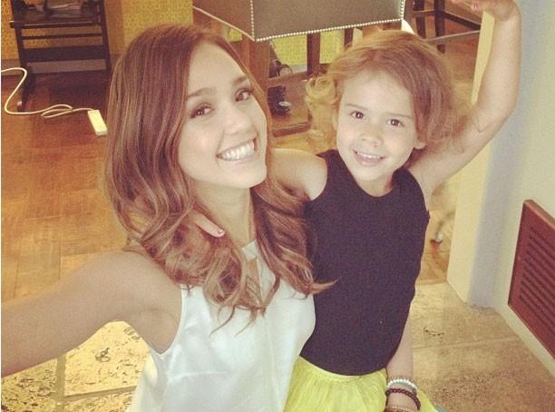 Jessica Alba : elle fête les 4 ans de sa petite princesse, Honor !