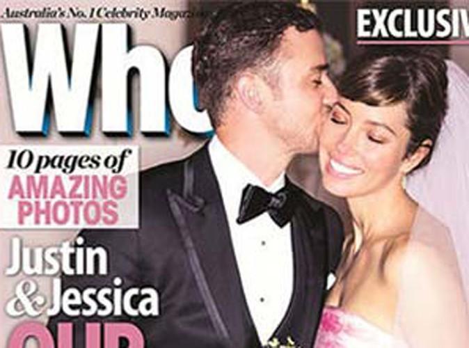 Jessica Biel et Justin Timberlake : encore une nouvelle photo de mariage qui respire l'amour !