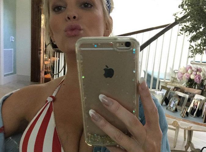 Jessica Simpson : Elle affole la toile avec un nouveau selfie !