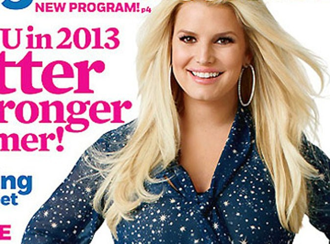 Jessica Simpson : mince comme jamais sur la couverture du magazine Weight Watchers !
