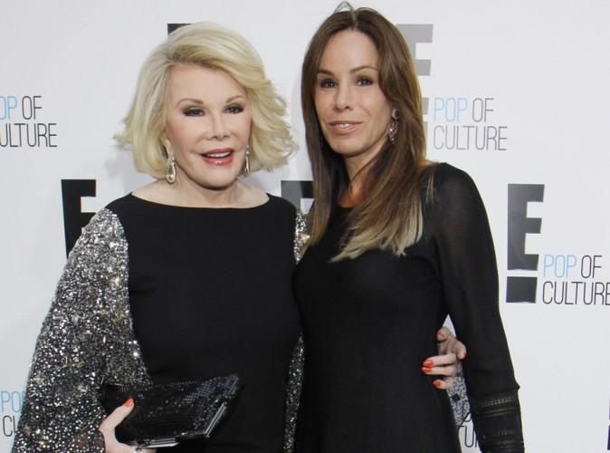 Joan Rivers : un héritage à 100 millions de dollars pour sa fille Melissa !