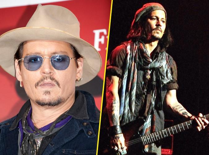 Johnny Depp : après ses flops au cinéma, il s'offre une parenthèse musicale !
