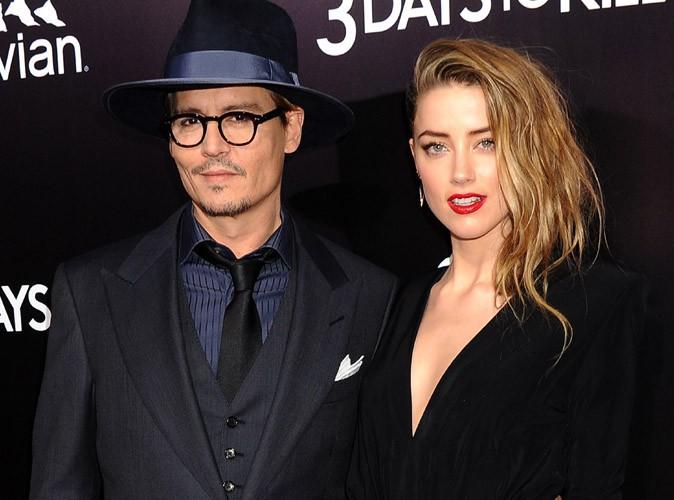 Johnny Depp et Amber Heard : ils ont fêté leurs fiançailles avec tous leurs proches !