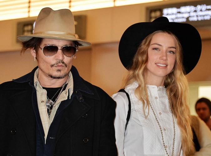 Johnny Depp et Amber Heard : le premier baiser des mariés, l'échange des voeux… Les photos fuitent !