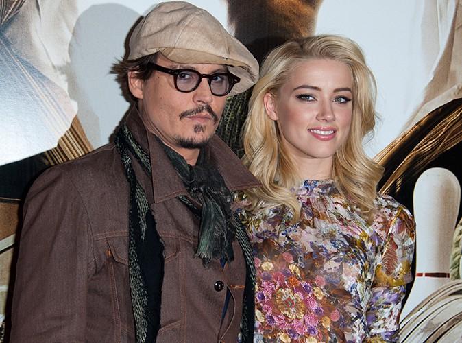 Johnny Depp : il confie avoir retrouvé l'amour dans les bras d'Amber Heard !