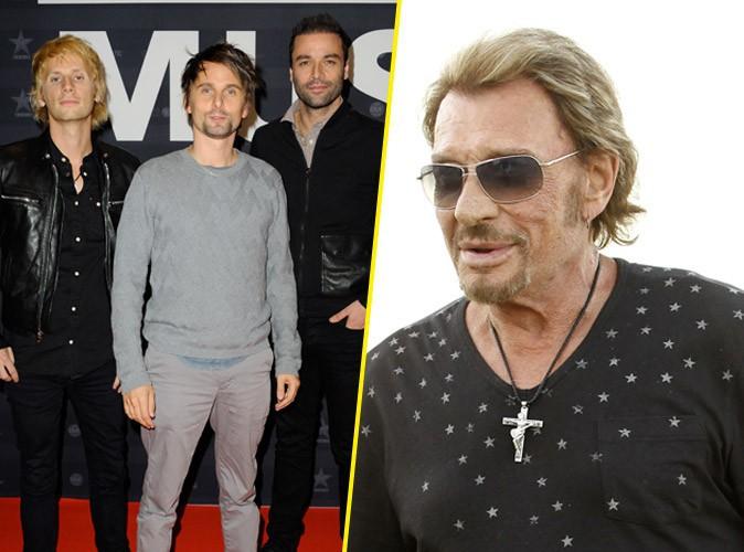 Johnny Hallyday : sollicité par Muse pour un duo !
