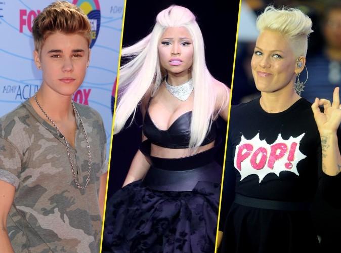Justin Bieber, Nicki Minaj, Pink : découvrez les réactions des stars face à l'élection présidentielle !