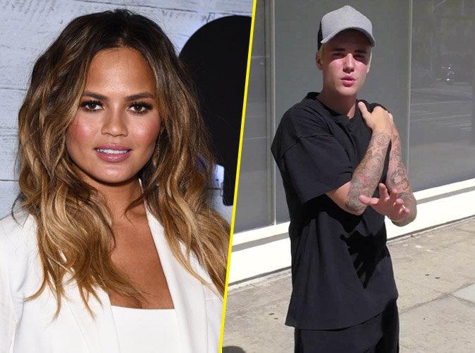 Justin Bieber nu sur la toile : Chrissy Teigen pousse un coup de gueule !