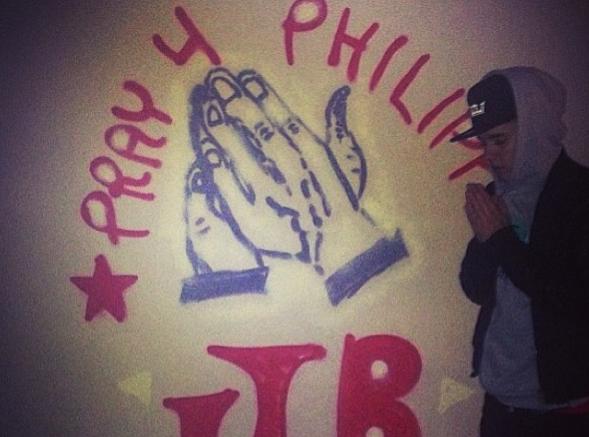 Justin Bieber se plie en quatre pour venir en aide aux Philippins !