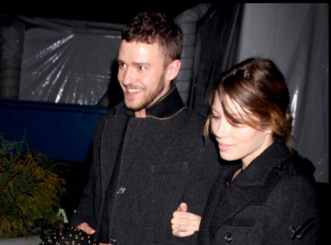"Justin Timberlake et Jessica Biel : ensemble à l'after party du film ""In Time"" !"