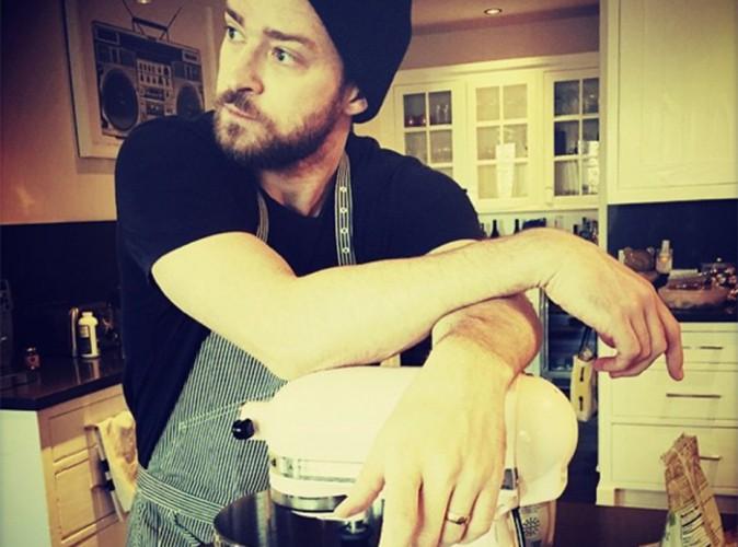 Justin Timberlake : Jessica Biel enceinte, il passe derri�re les fourneaux !
