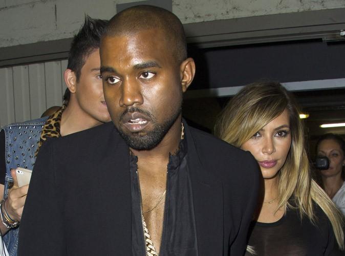Kanye West : comme Kim Kardashian, il porte North en pendentif !