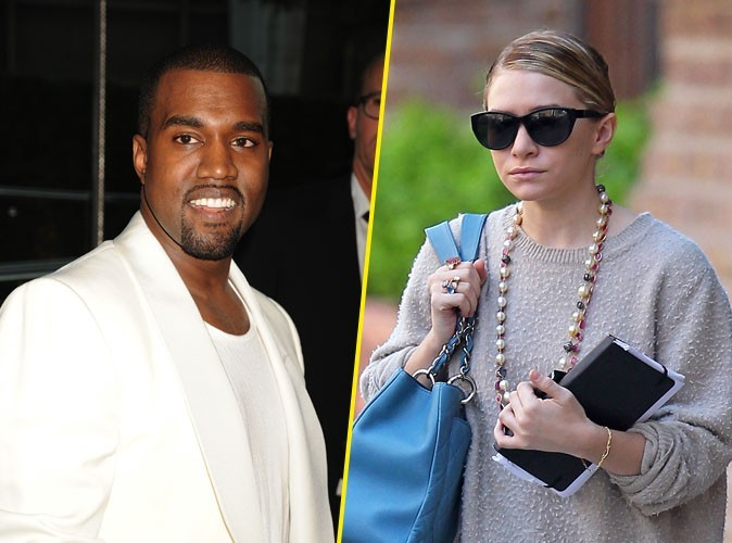 Kanye West et Mary-Kate Olsen : le rappeur et la fashionista seraient amoureux !
