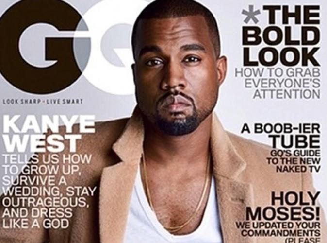 Kanye West : il nous donne des leçons en une de GQ pendant que Kim Kardashian cherche un sosie pour North !