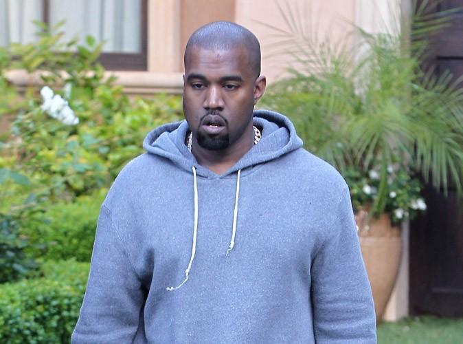 Kanye West : le portail électrique de Kim Kardashian se referme sur la voiture à 750000$ du rappeur…