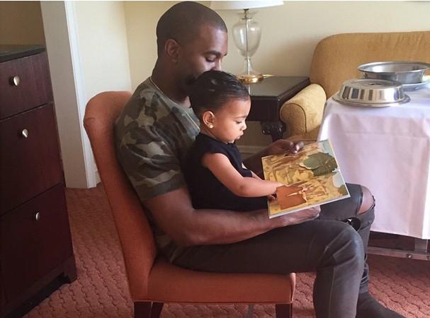 """Kanye West : """"Mes réunions s'organisent autour de North"""" !"""