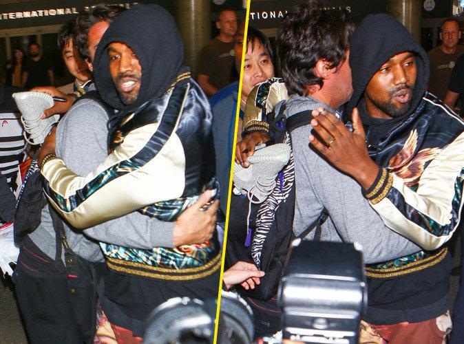 Kanye West : métamorphosé, il stoppe une bagarre et enlace un paparazzi !