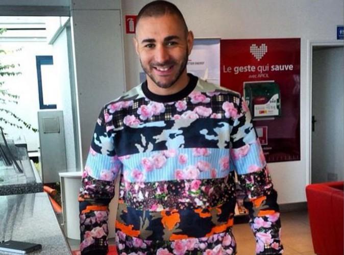 Karim Benzema : look haut en couleurs et grand sourire pour son départ en vacances !