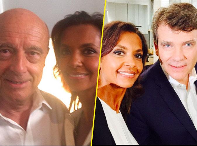 Karine Le Marchand : Reine du selfie, elle s'affiche complice avec des hommes politiques !