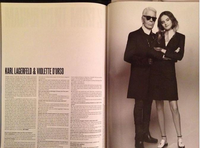 Karl Lagerfeld : une nouvelle muse au destin tout tracé !