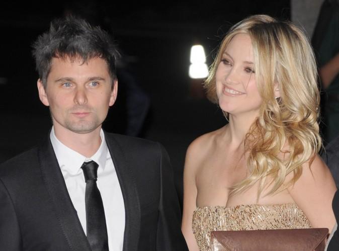 """Kate Hudson et Matthew Bellamy : malgré leurs fiançailles, """"Il n'y a pas de mariage prévu"""" !"""